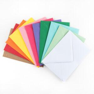 Colorful envelops